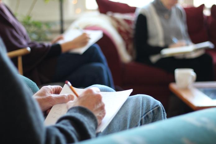 david's hands writing group